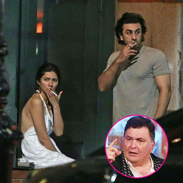 """Rishi Kapoor reacts to Ranbir Kapoor and Mahira Khan's leaked pics; says """"It DOES NOT concern me"""" #FansnStars"""