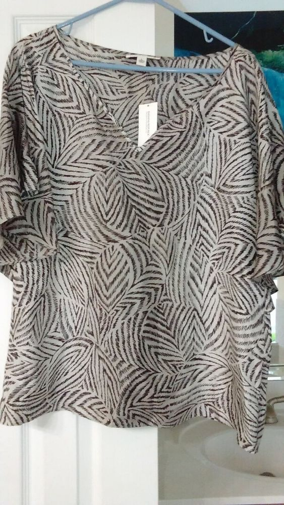 Brand new 100% Silk Banana Republic Women s Shirt  fashion  clothing  shoes   accessories  womensclothing  tops  ad (ebay link) 5b7fb88d3
