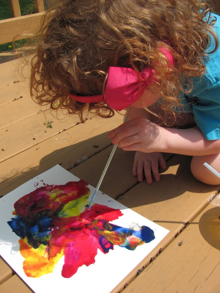Come Together Kids: Five Fun Ideas with Paint!
