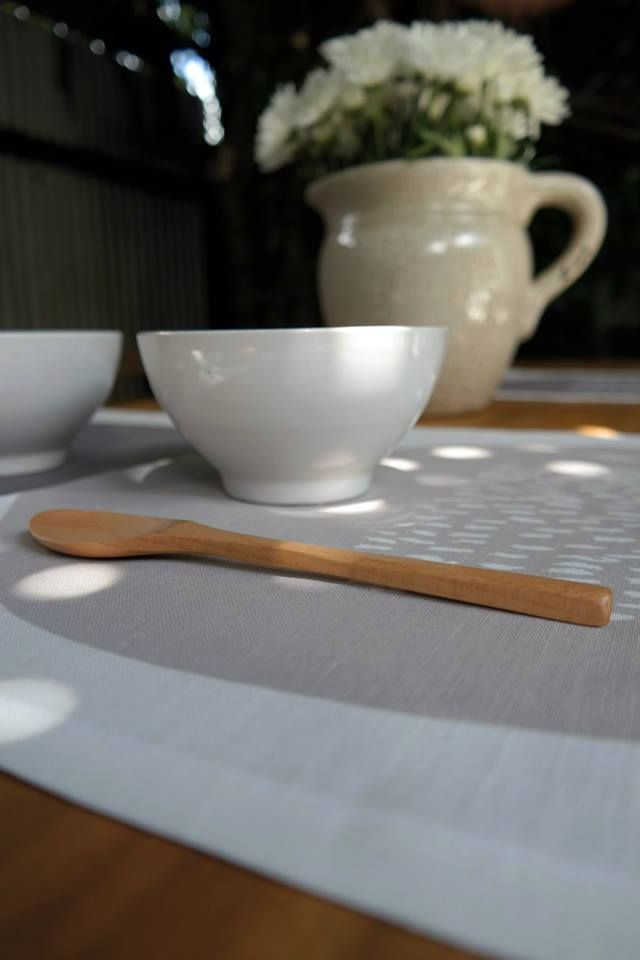 Our linen table runners.