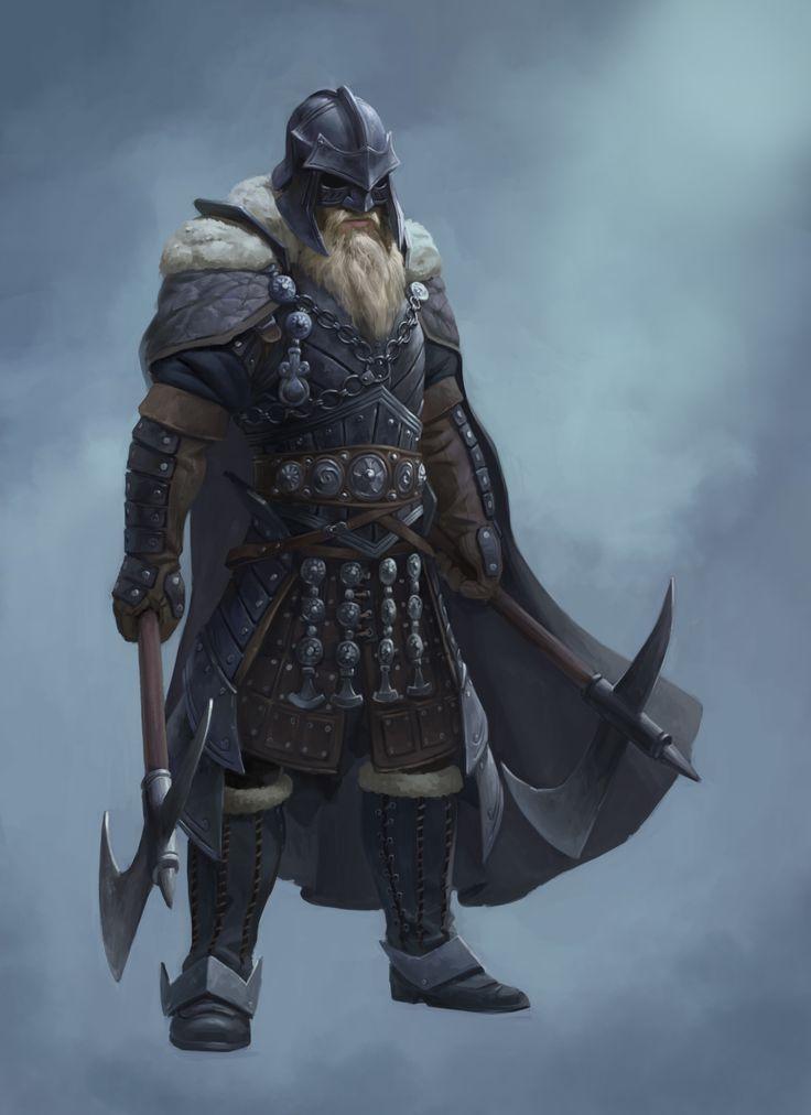 ArtStation - Barbarian, Nik Overdiek