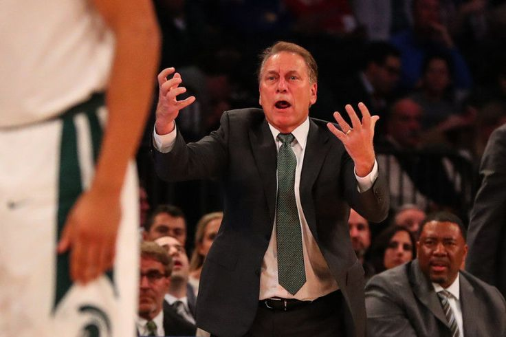 Tom Izzo need not apologize for tough schedule -= Tom Izzo is a legend. We can end the column there, but he did say something interesting recently in which the Michigan State Spartans coach tried to be apologetic for something that needed no apologies. Following.....