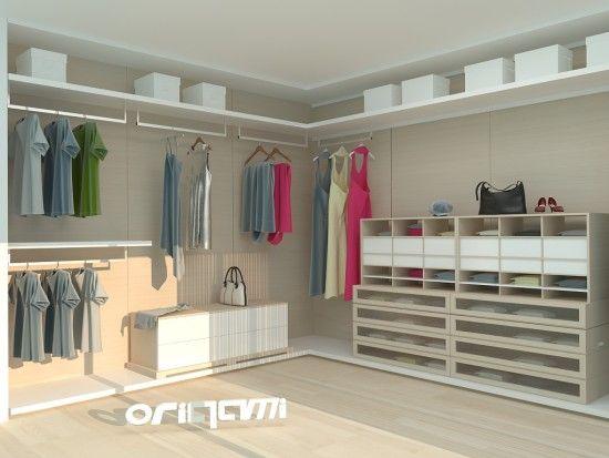 Origami Modern Masif Mobilya | Projeler | Giyinme Odası