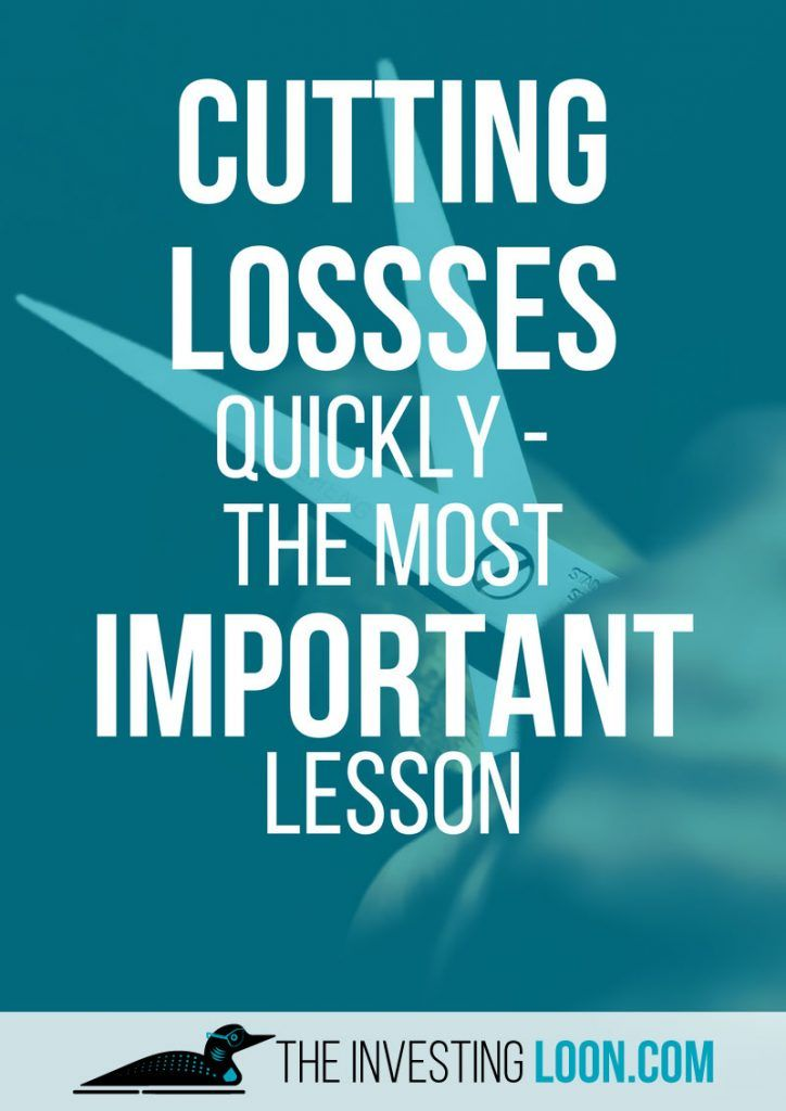 Stock Market for Beginners | Cutting losses quickly is the most important lesson.