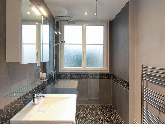 Douche italienne avec fenetre