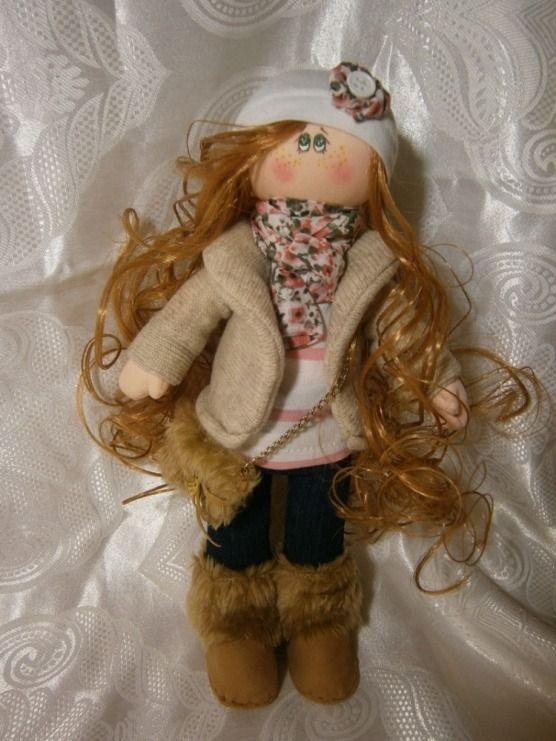Купити: інтерєрна лялька Аміна - Каталог рукоділля zolotiruky.in.ua #9778