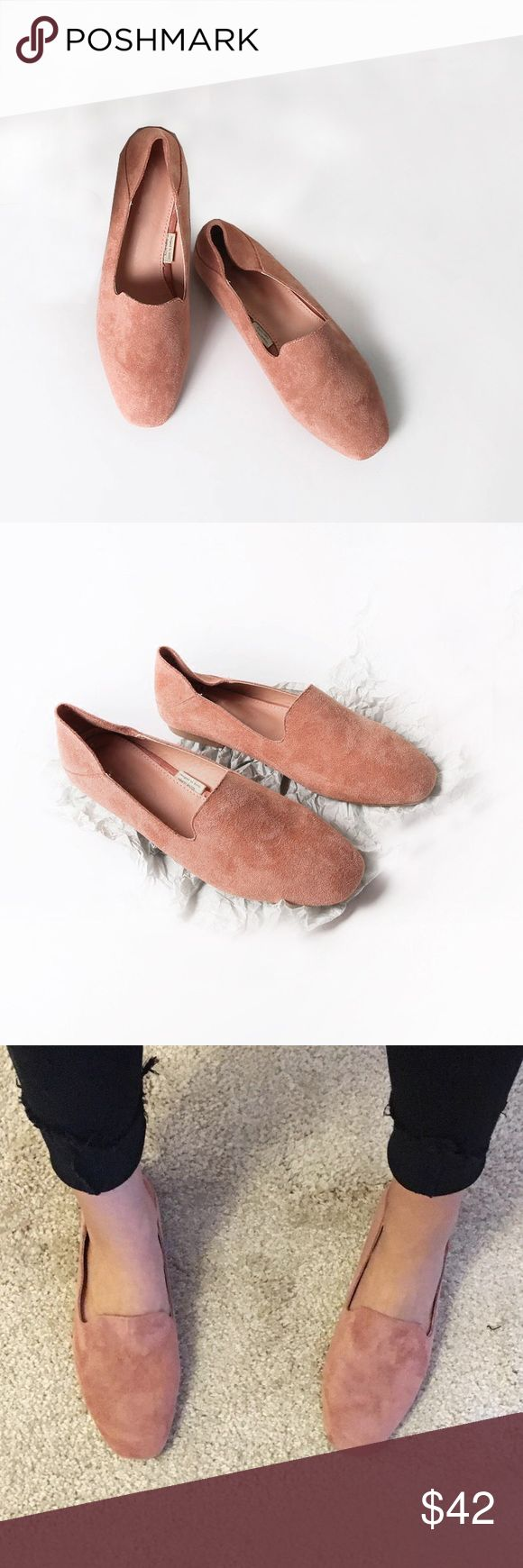 🆕 Pink soft loafer Brand new. Comfy and cute. Goes well with everything, shorts, jeans, skirts and dresses. You can wear it as a loafer or as a slipper. Size 38 fits 37.5 too Shoes Flats & Loafers