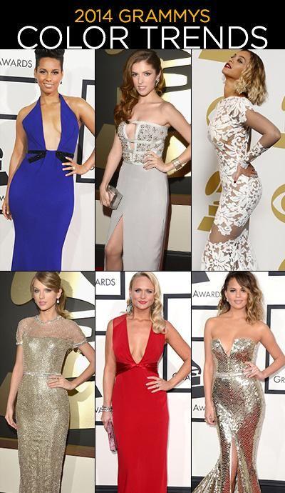 2014 Grammy Awards: Best in Color