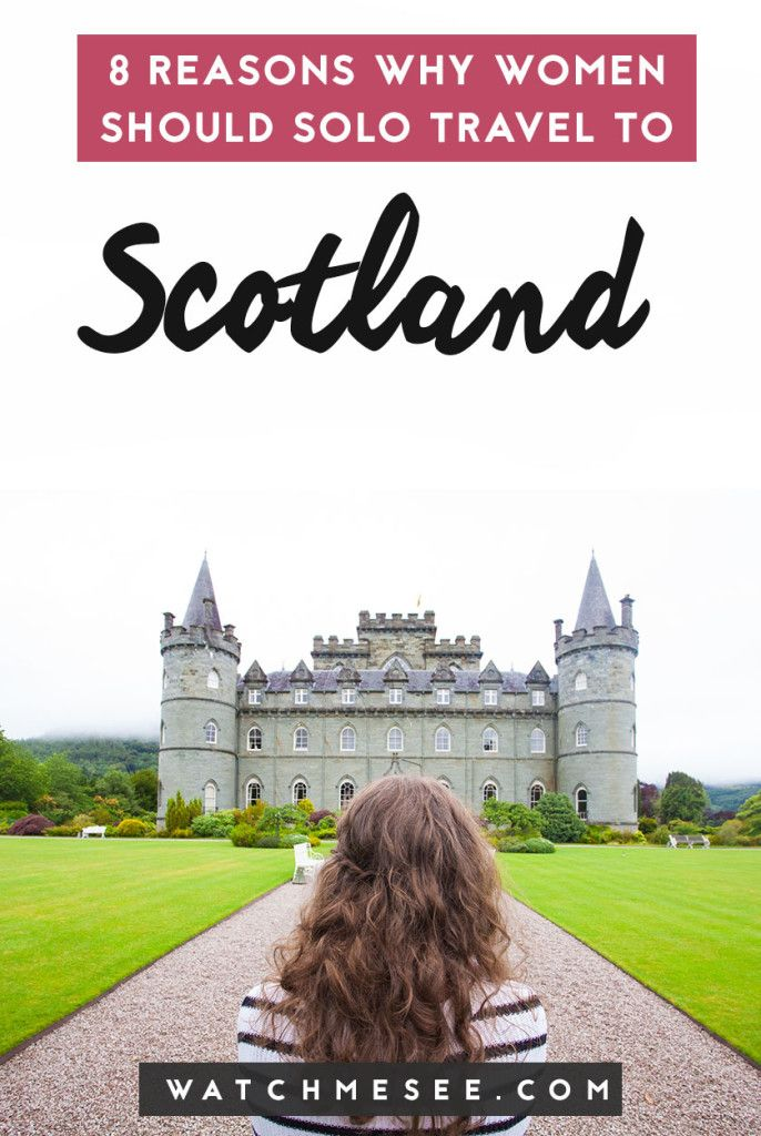Planning to solo travel soon? Here are 8 reasons why Scotland is the perfect destination for solo female travellers! #solofemaletravel #scotland