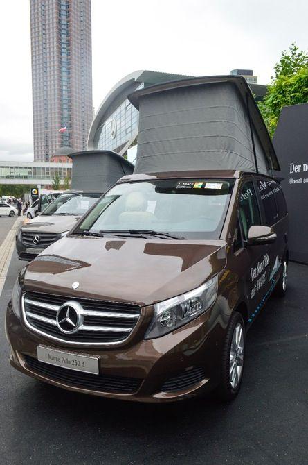 Mercedes marco polo 250 d camper van van tastic for Minivan mercedes benz