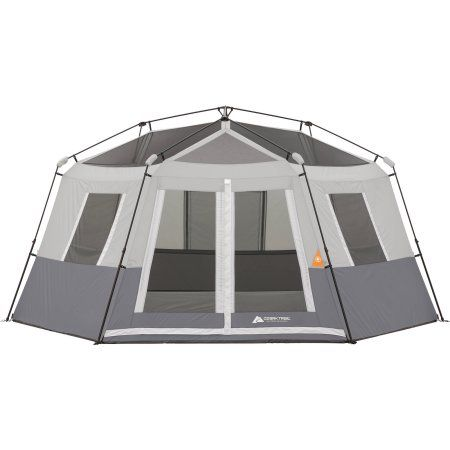 Ozark Trail 8-Person Instant Hexagon Cabin Tent Image 2 of 11
