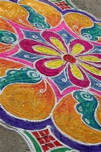 Indian Festival Floor designs