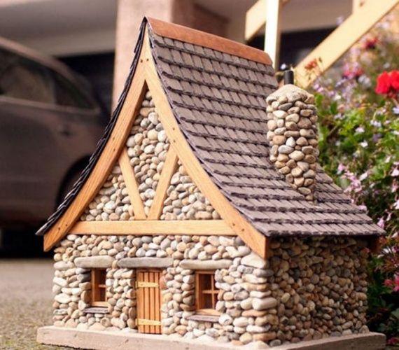 Minyatür Taş Peri Evi Nasıl Yapılır?