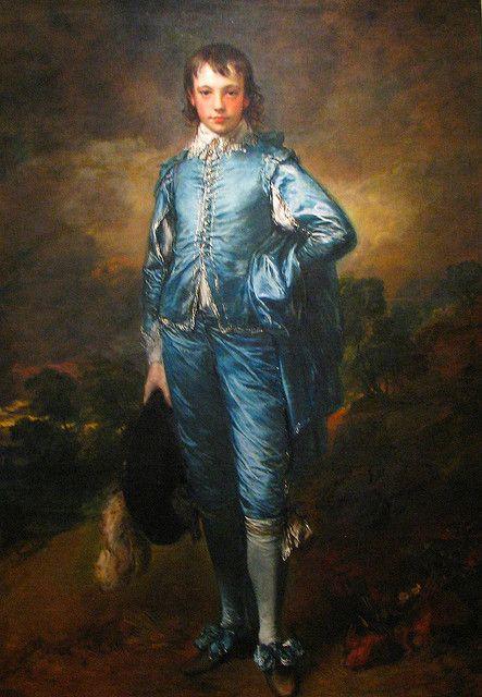 The Blue Boy-Thomas Gainsborough-1770-olio su tela-177.8 cm × 112.1 cm-conservato al Henry E. Huntington Art Gallery[1], San Marino, California