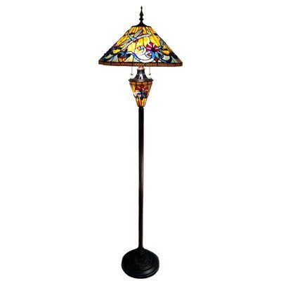 Victorian Style Dragonfly Lamps