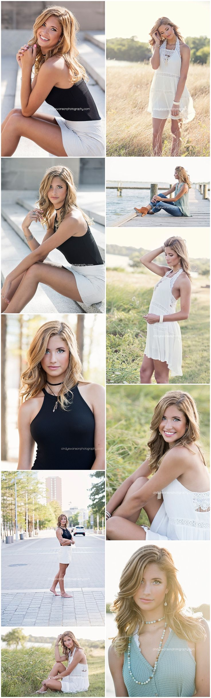 Senior girl portrait posing ideas   Dallas senior photographer Cindy Swanson Photography