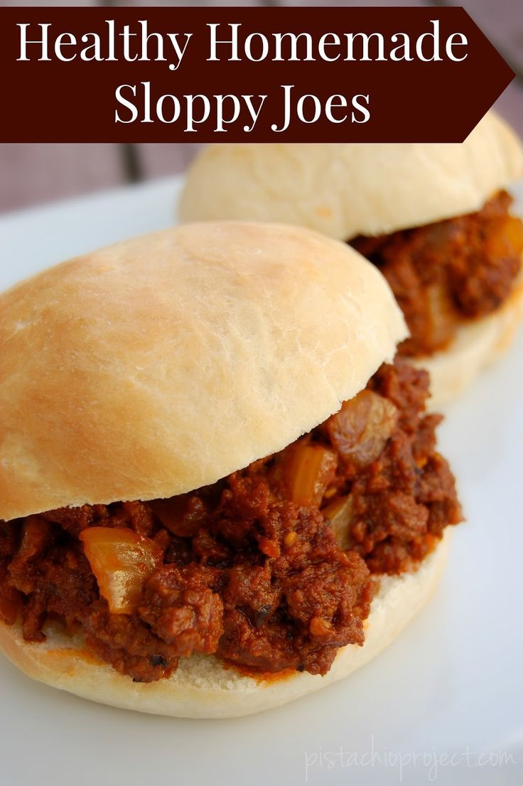 135 best real food dinner recipes images on pinterest real food healthy homemade sloppy joes theres no more worry about what is in my sloppy joes forumfinder Gallery