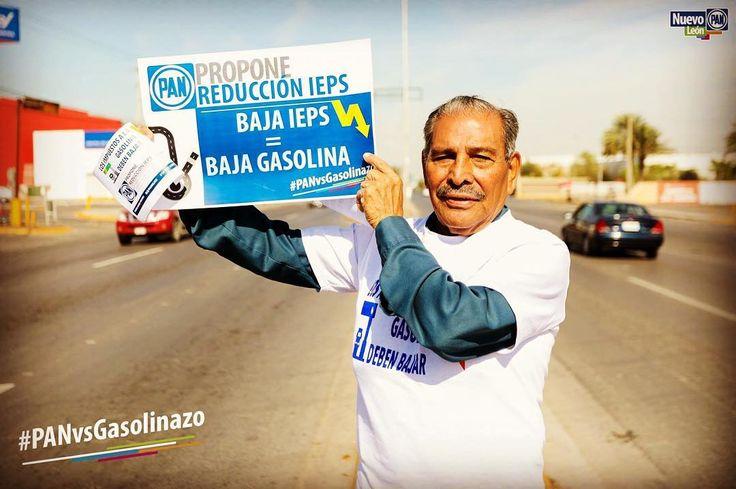 Después de 61 años de lucha Don José sigue siendo ejemplo que no podemos darnos por vencidos.  Seguiremos exigiendo la reducción del IEPS para que el precio de la gasolina baje.  #PANvsGasolinazo #Panistas #panistadetodalavida #México #NuevoLeón #CambiamosNL #Gasolinazo #Gasolinazo2017