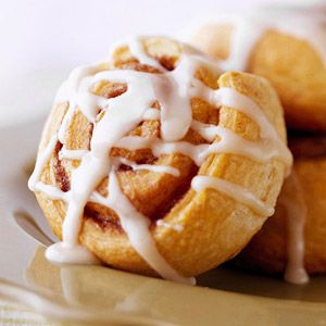 Crescent Roll Cinnamon Rolls From Better Homes and Gardens, ideas and improvement projects for your home and garden plus recipes and entertaining ideas.