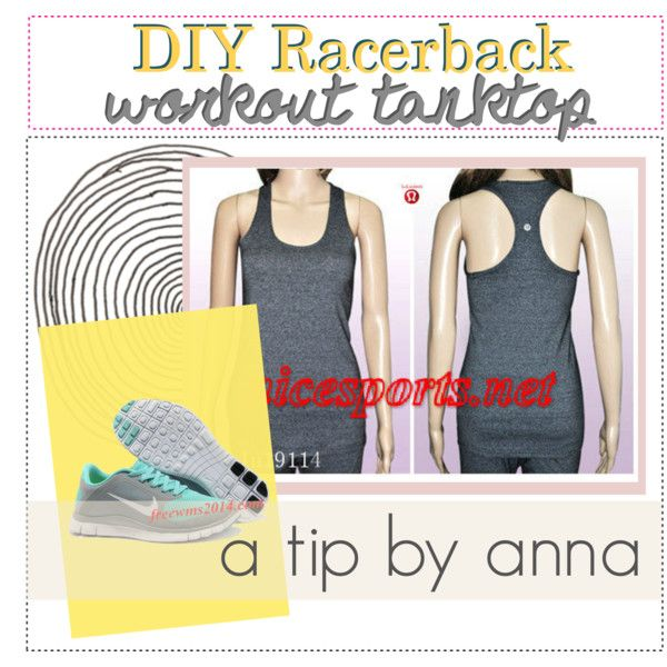 """Nike Free 4.0 V3 And Lululemon Cool Racerback Tank For Hot Sale""       Discount #Wholesale for Grils in Summer 2014"
