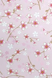 PiP Cherry Blossom Pink wallpaper