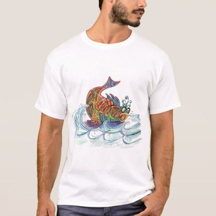 Fish out of Water T-Shirt - spring gifts beautiful diy spring time new year