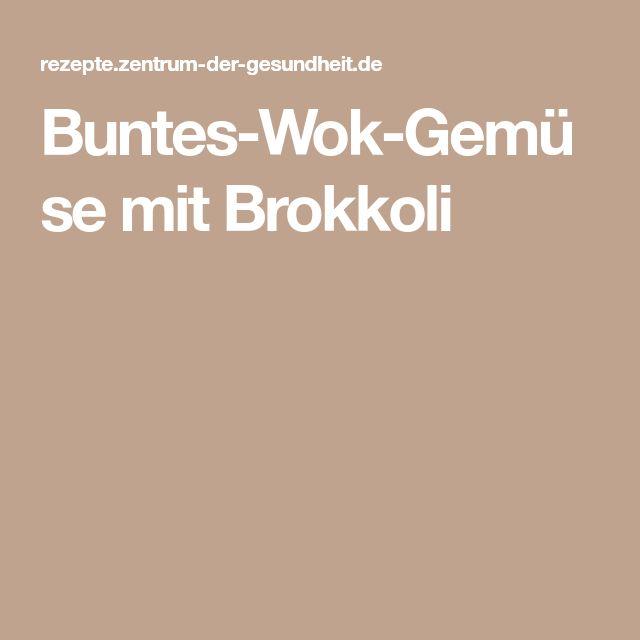 Buntes-Wok-Gemüse mit Brokkoli