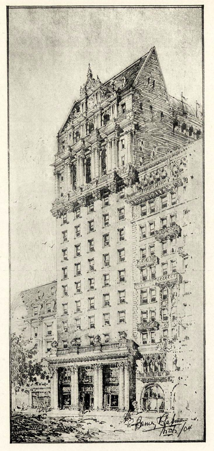 Design for the Hoffman Hotel on Broadway