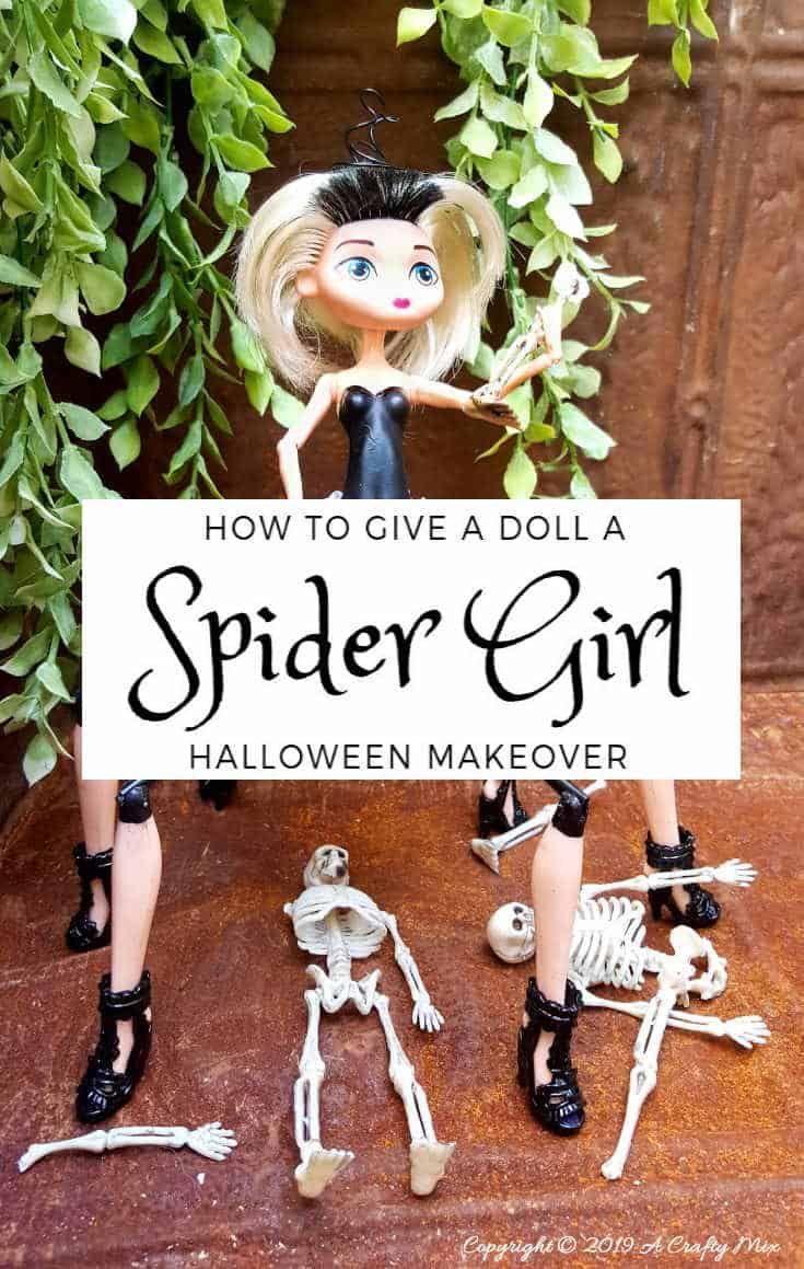 Barbie Gets a SpiderGirl Makeover, that Rocks!!! Girl