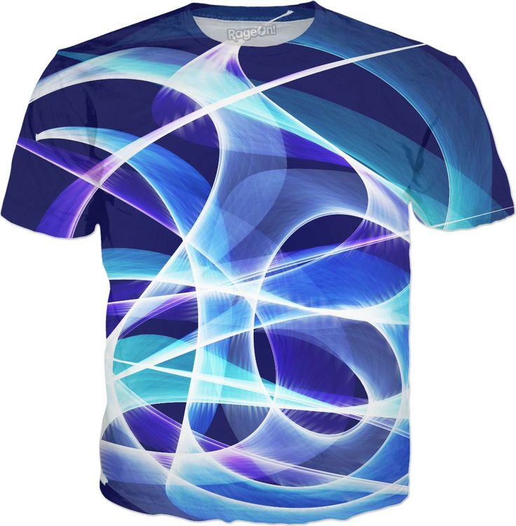 Waves Dark Blue T-Shirt by Terrella available at https://www.rageon.com/products/waves-dark-blue-1?aff=BSDc on RageOn!