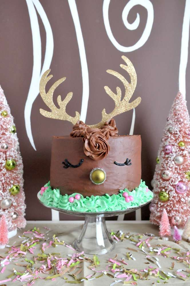 Girly Reindeer Party | CatchMyParty.com