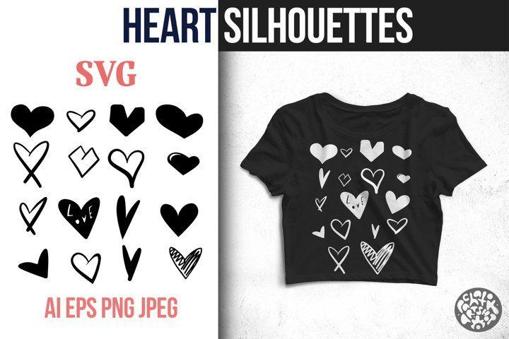 Download Heart Svg Bundle Png Jpeg Valentine Love Hearts Sublimation 1087389 Illustrations Design Bundles Logo Background Free Design Resources Svg