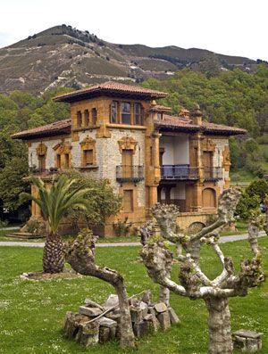 Eva Rodríguez Braña: La ruta de las casas de los indianos en Asturias, España
