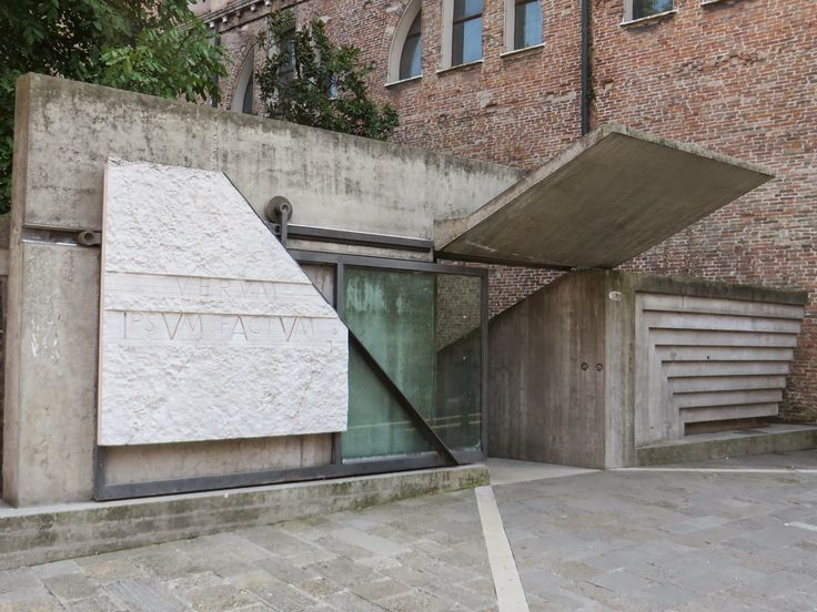 Faculté d'Architecture de Venise, 1966-1972, Carlo Scarpa