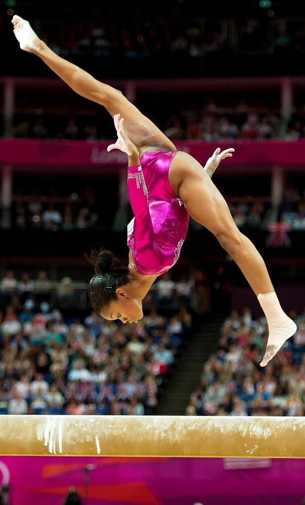Gabrielle Douglas, Women's Gymnastics individual all-around finals, London 2012