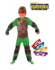 Classic Ninja Turtles kostuum voor jongens