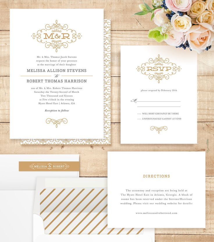 Best 25+ Traditional Wedding Invitations Ideas On Pinterest