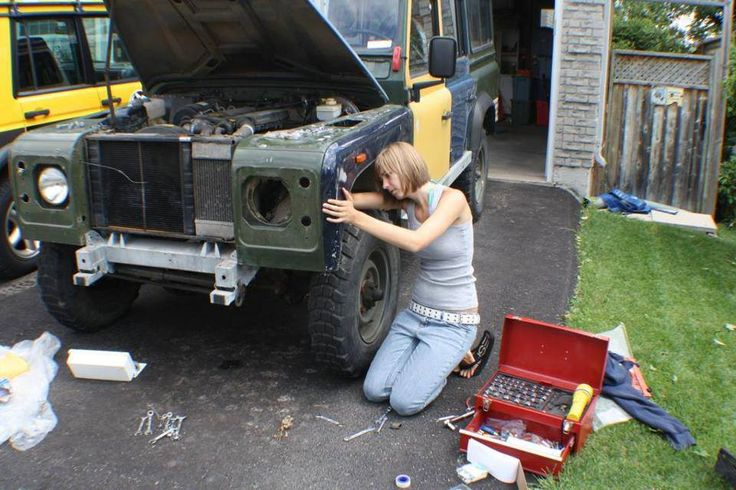 Land Rover - turning owners into mechanics since 1948   Land rovers ...