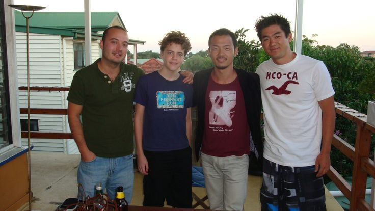 Fun with Claudio, Butchi and Ismael
