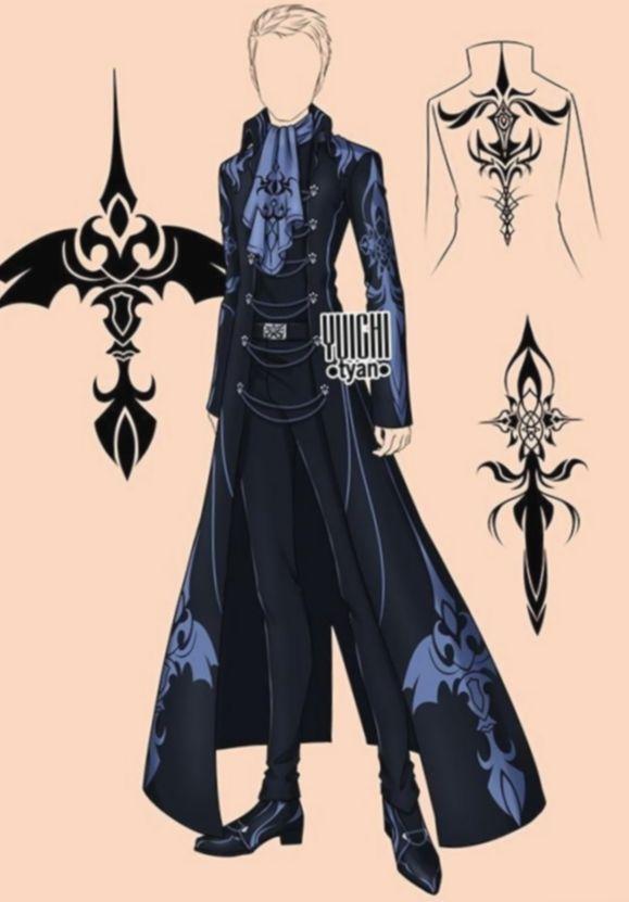 9 Anime Outfits Male Deviantart Anime Deviantart Male Outfits In 2020 Anime Outfits Art Clothes Clothes Design