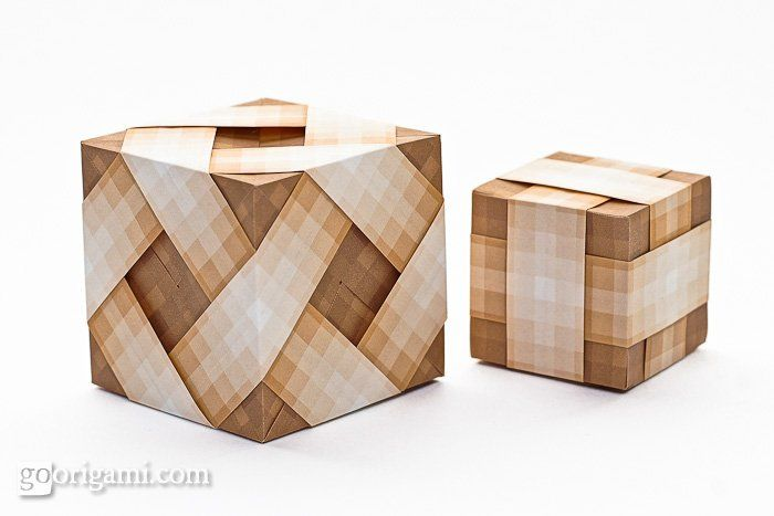 best 25  origami cube ideas on pinterest