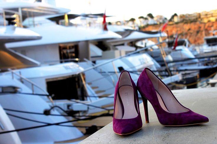 Klasyczne piękno 😍#rylko #estima #rylkoshoes #heels #violet #classy #highheels #velour #newcollection #ss2017 #shoponline #polishbrand