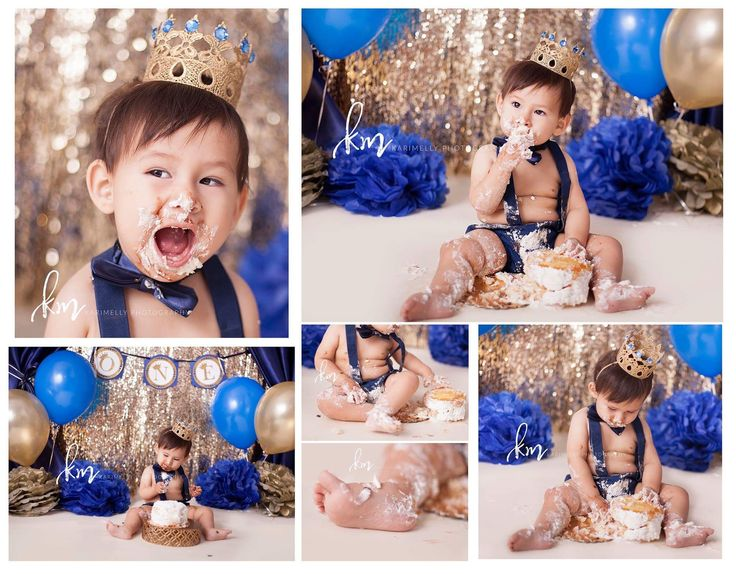 Prince cake smashing session, Prince first birthday, Prince birthday party