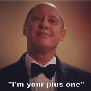 James Spader as Raymond Red Reddington in The Blacklist