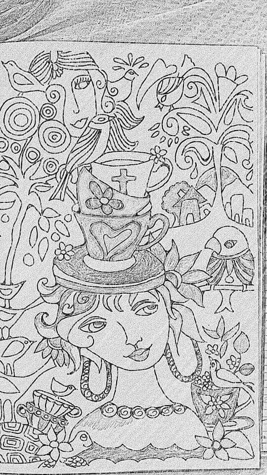 The teapot woman
