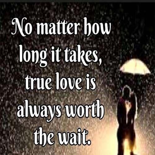 True love is always