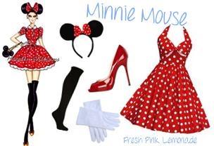Disfraz Minnie Mouse, #Halloween
