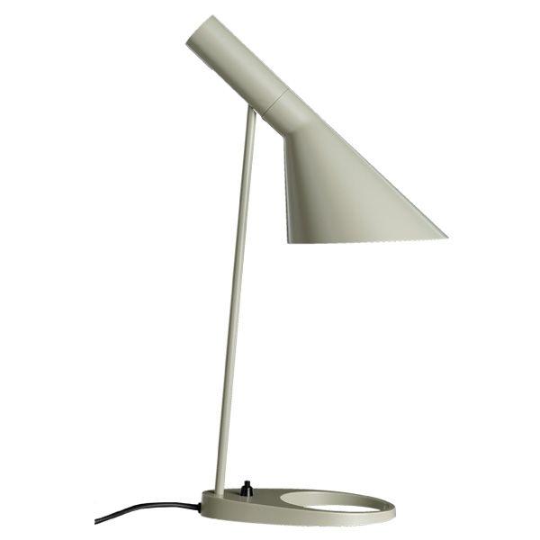AJ table lamp, sand