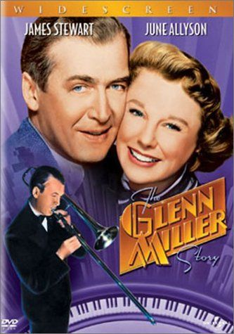 Truly lovely JImmy Stewart and June Allyson in The Glen MIller story! I love this film and yes I always cry at the end too.