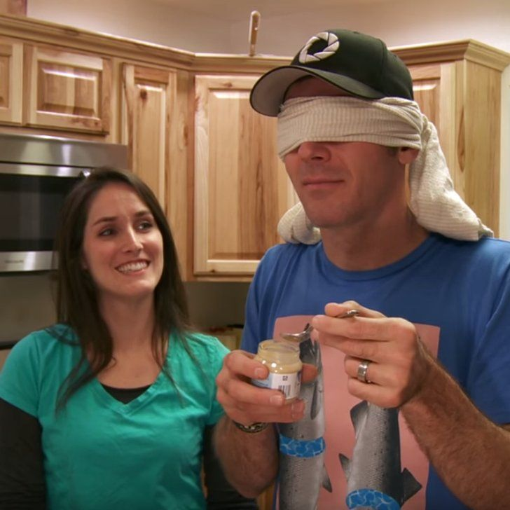 He Thinks He's Doing a Taste Test, but She's Surprising Him With an Epic Pregnancy Announcement!